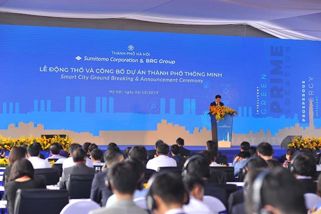 Lễ công bố động thổ dự án Thành Phố Thông Minh