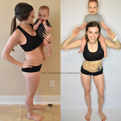 80 day obsession, 80 day obsession results, postpartum fitness, breastfeeding, exercise while breastfeeding, postpartum progress, beachbody on demand