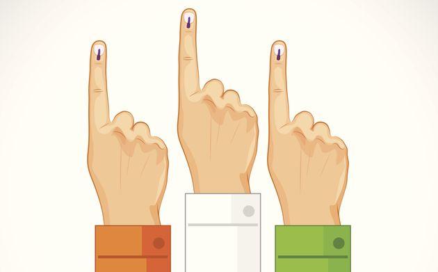 निर्वाचन क्षेत्र, COVID-19 रोगी अंतिम एक घंटे में अपना वोट दे सकते हैं।