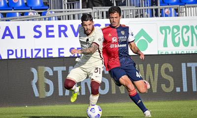 ملخص واهداف مباراة روما وكالياري (2-3) الدوري الايطالي