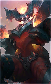 Thamuz Lord of Lava Heroes Fighter of Skins