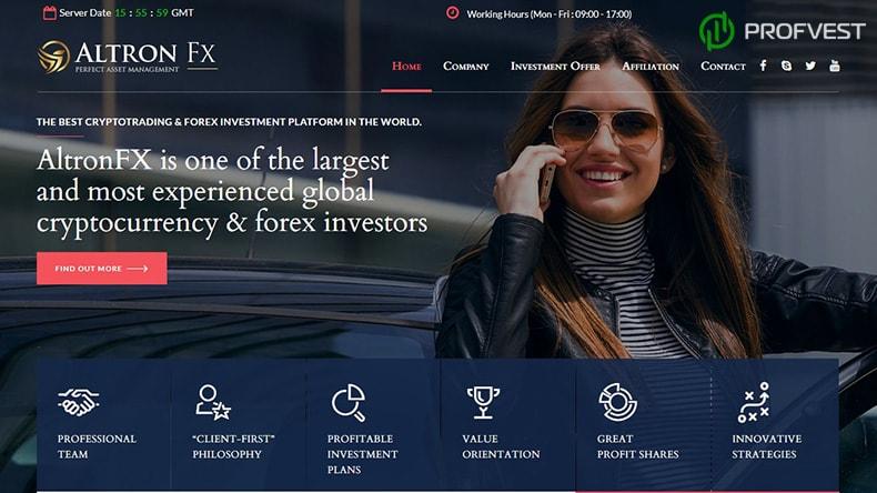 AltronFX обзор и отзывы HYIP-проекта
