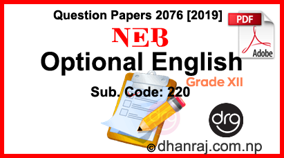Optional-English-Class-12-Question-Paper-2076-2019-Sub-Code-220-NEB-DOWNLOAD