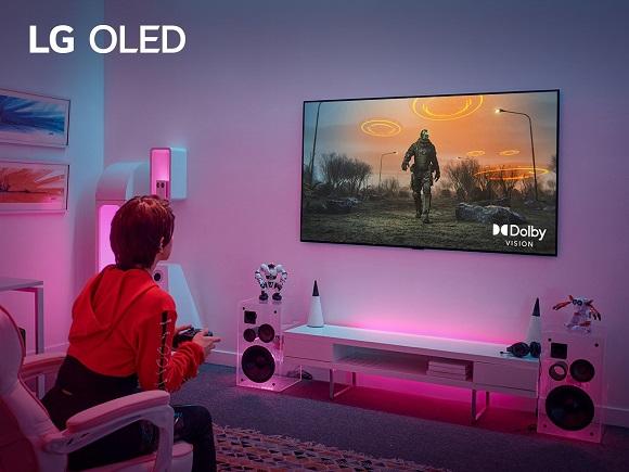 LG TV Dolby Vision® HDR at 4K 120Hz for Gaming