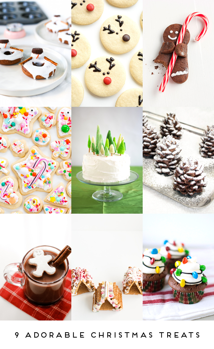 9 ADORABLE CHRISTMAS TREATS.