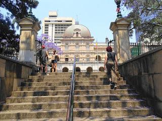 Brisbane City Botanic Gardens Ausgabg Parlament