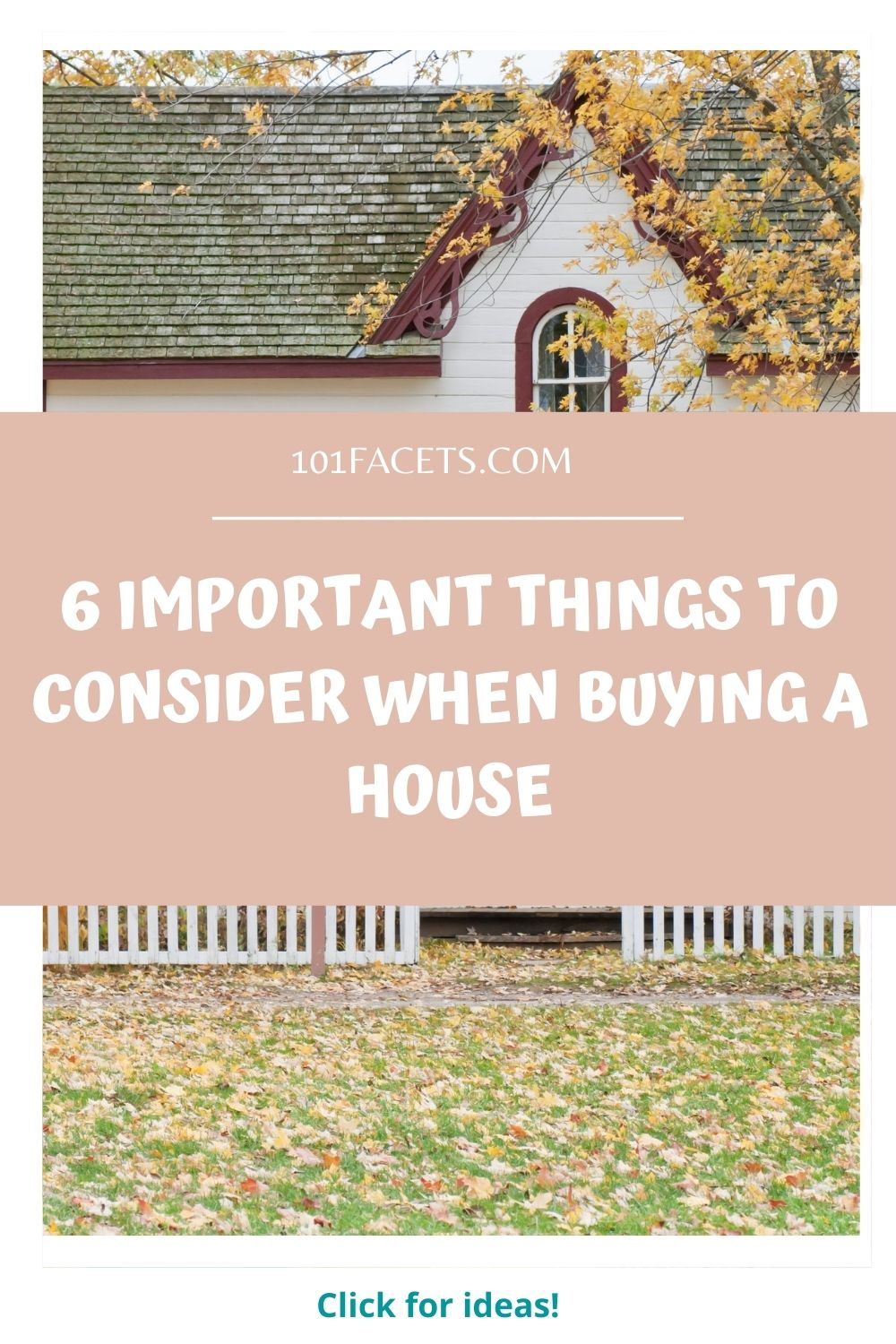 Important Things to Consider When Buying a House