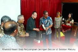 Rhenald Kasali Siap Perjuangkan Jaringan Selular di Selatan Maluku