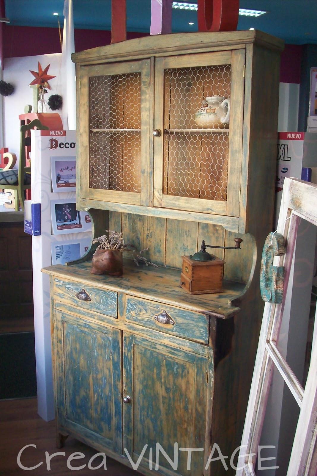 Muebles De Cocina Retro | Cocinas Retro Ideas Para Mejorar Tu Cocina ...