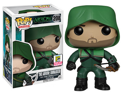 "San Diego Comic-Con 2015 Exclusive ""Unmasked"" The Arrow TV Series Pop! Vinyl Figure by Funko"