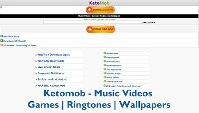 Ketomob – Music Videos - Games   Ringtones   Wallpapers - How to Download on www.ketomob.com