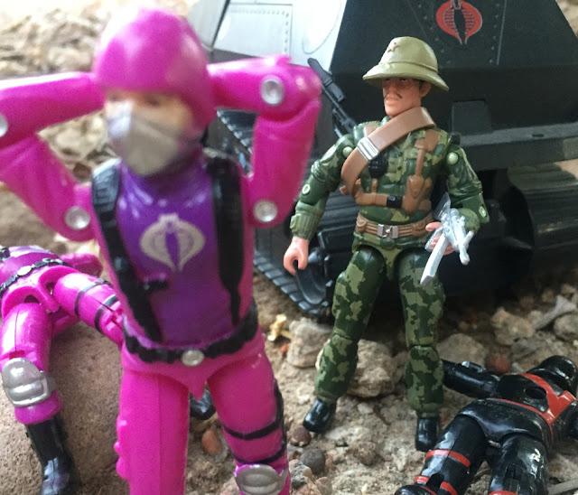 2005 Sgt. Misha, 2006 Comic Pack, Oktober Guard, Stalker, Lt. Gorky, Black Major, Cobra Trooper, Techno Trooper