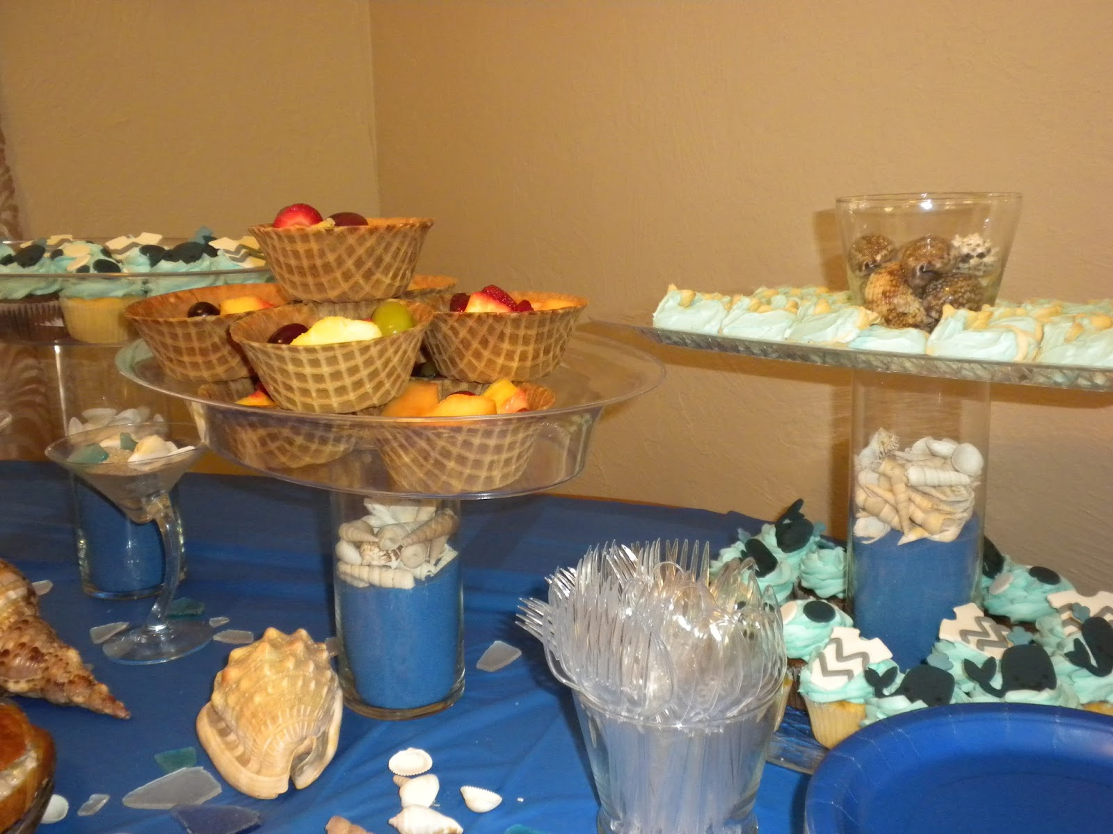 Sweetp Over The Moon For Under The Sea Whale Of A Baby Shower