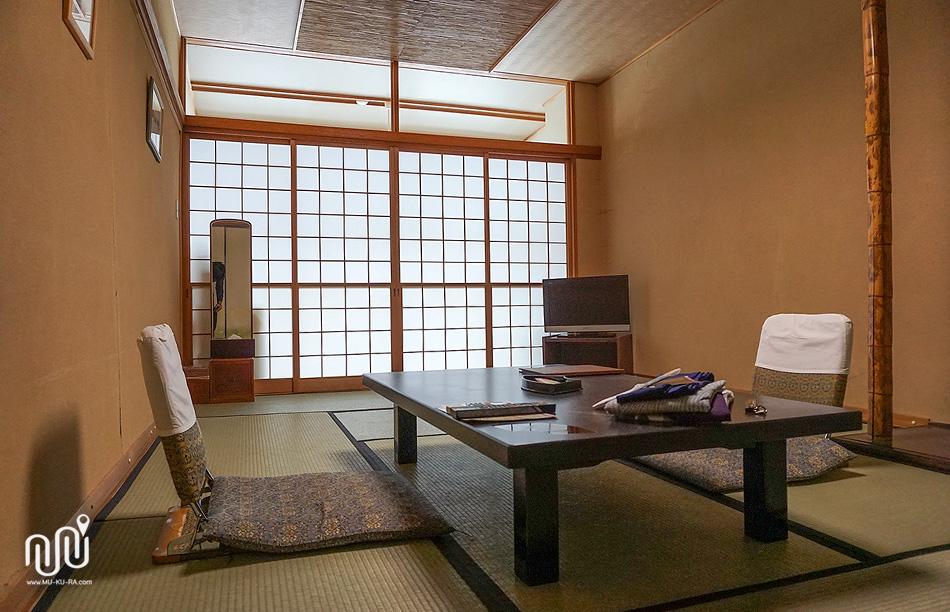 ห้องพักที่ Takaragawa onsen