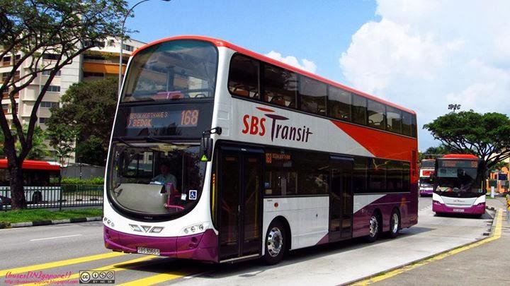 Buses In Gapore Sbs Transit Volvo B9tl Gemilang