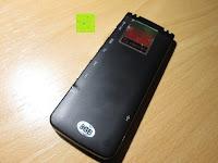 Rückseite: GHB 8GB Digitales Diktiergerät Aufnahmegerät Audio Voice Recorder mit Stereoaufnahmen, MP3 Player und USB Spericher -Schwarz