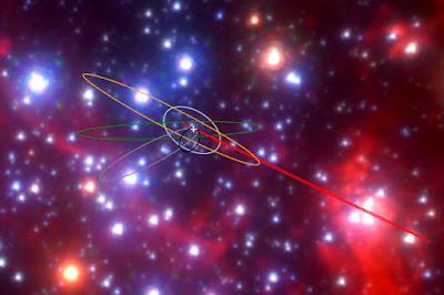 Encuentran objetos de gas y polvo que encierran estrellas binarias