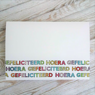Greeting card with stamps from Carlijn Design