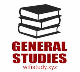 General Studies Quiz