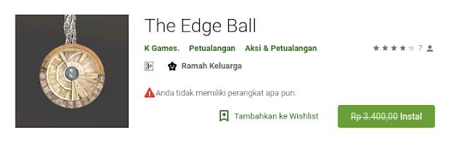 The Edge Ball (Free sampai 20 Agustus)