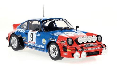 WRC collection 1:24 salvat españa, Porsche 911 SC 1:24