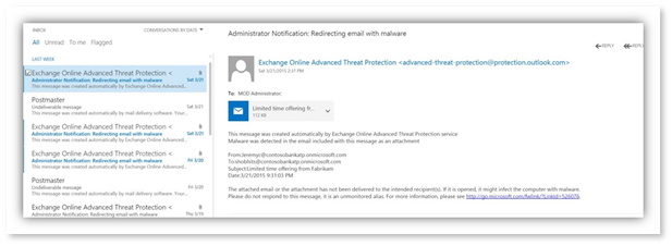 A Static State: Exchange Online Protection Advanced Threat