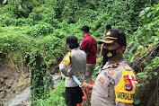 Tim Gabungan Pencarian Korban terbawa arus Dibantu oleh Personil Polda Sulut