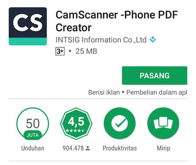 Cara scan dokumen menggunakan ponsel Android