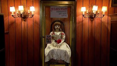 A boneca Annabelle, original do filme, participa da Câmera Escondida (Divulgação/SBT)