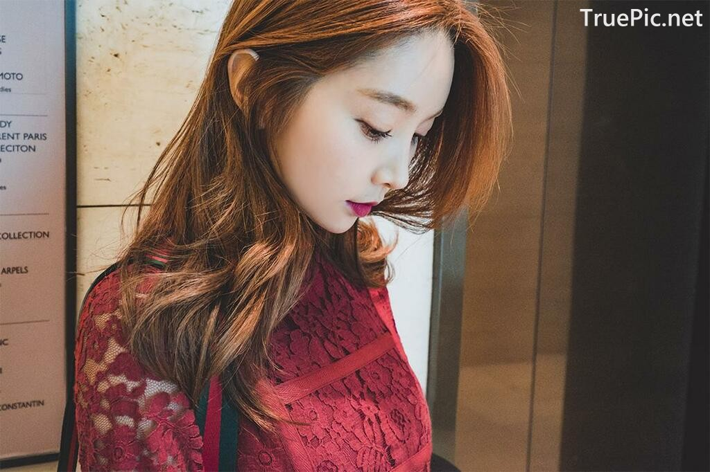 Image-Korean-Fashion-Model-Park-Soo-Yeon-Beautiful-Winter-Dress-Collection-TruePic.net- Picture-1
