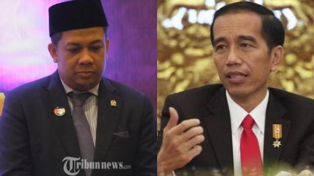 Sentil Jokowi, Fahri Hamzah: Ratusan Rakyat hilang, Ribuan Mata Sembab Memohon Tindakan