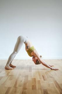 Downdog yoga  yoga poses to tone thighs