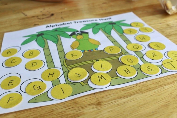 printable alphabet matching activity