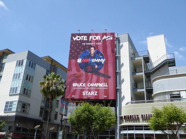 Ash vs Evil Dead 2016 Emmy consideration billboard