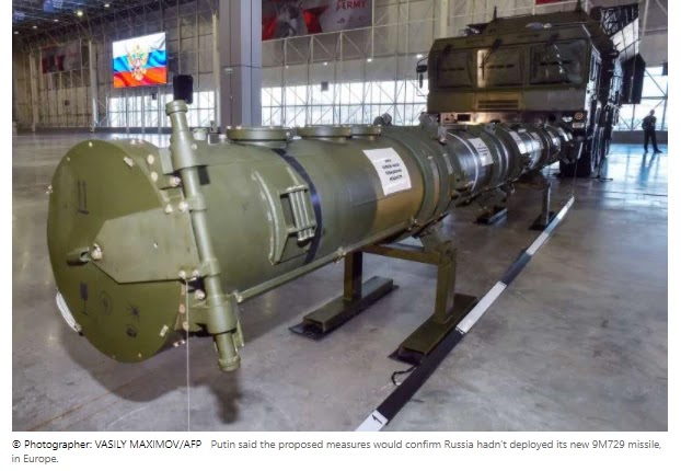 Putin inspected NATO missiles to restart the deal