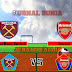 Prediksi West Ham United Vs Arsenal , Minggu 21 Maret 2021 Pukul 22.00 WIB