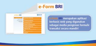 Bagaimana Cara Daftar Transaksi Pada E - From BRI?