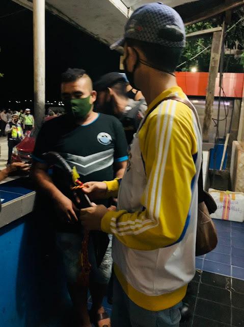 Bawa Parang di Pelabuhan Poto Tano, Tiga Warga Sumbawa Diperiksa Polisi