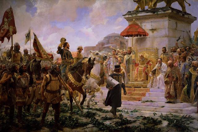 Entrada de Roger de Flor a Constantinoble