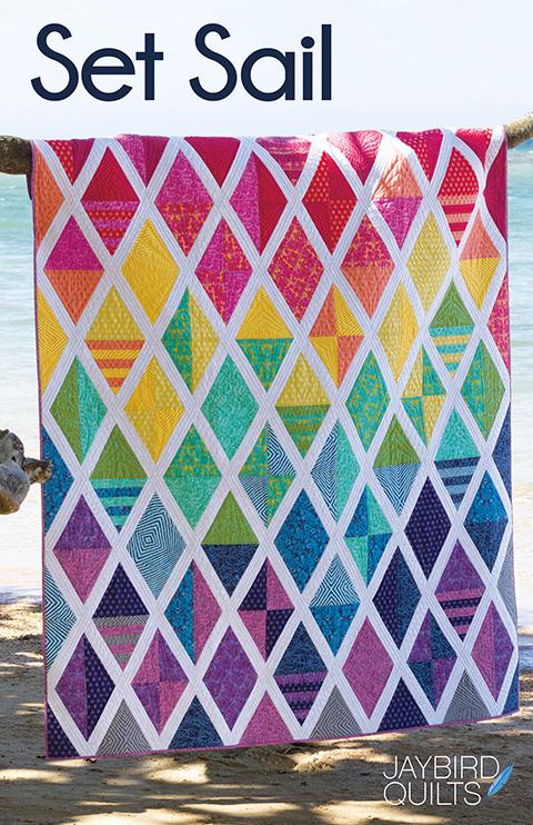The Latest Jaybird Quilts Pattern: Set Sail! Jaybird Quilts