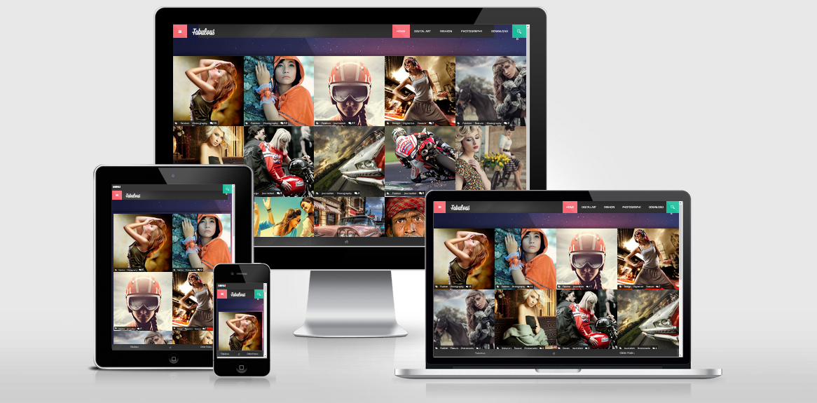 Fabulous Photography Responsive Template blogspot