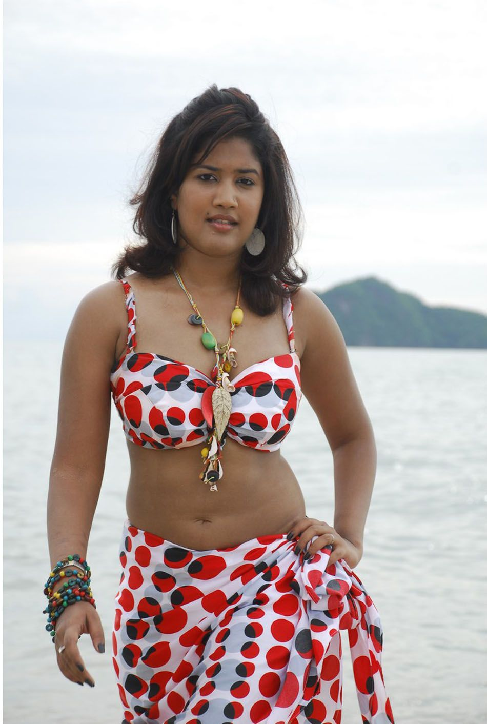 Photo Sharing Actress Soumya Hot Bikini Photos-4527
