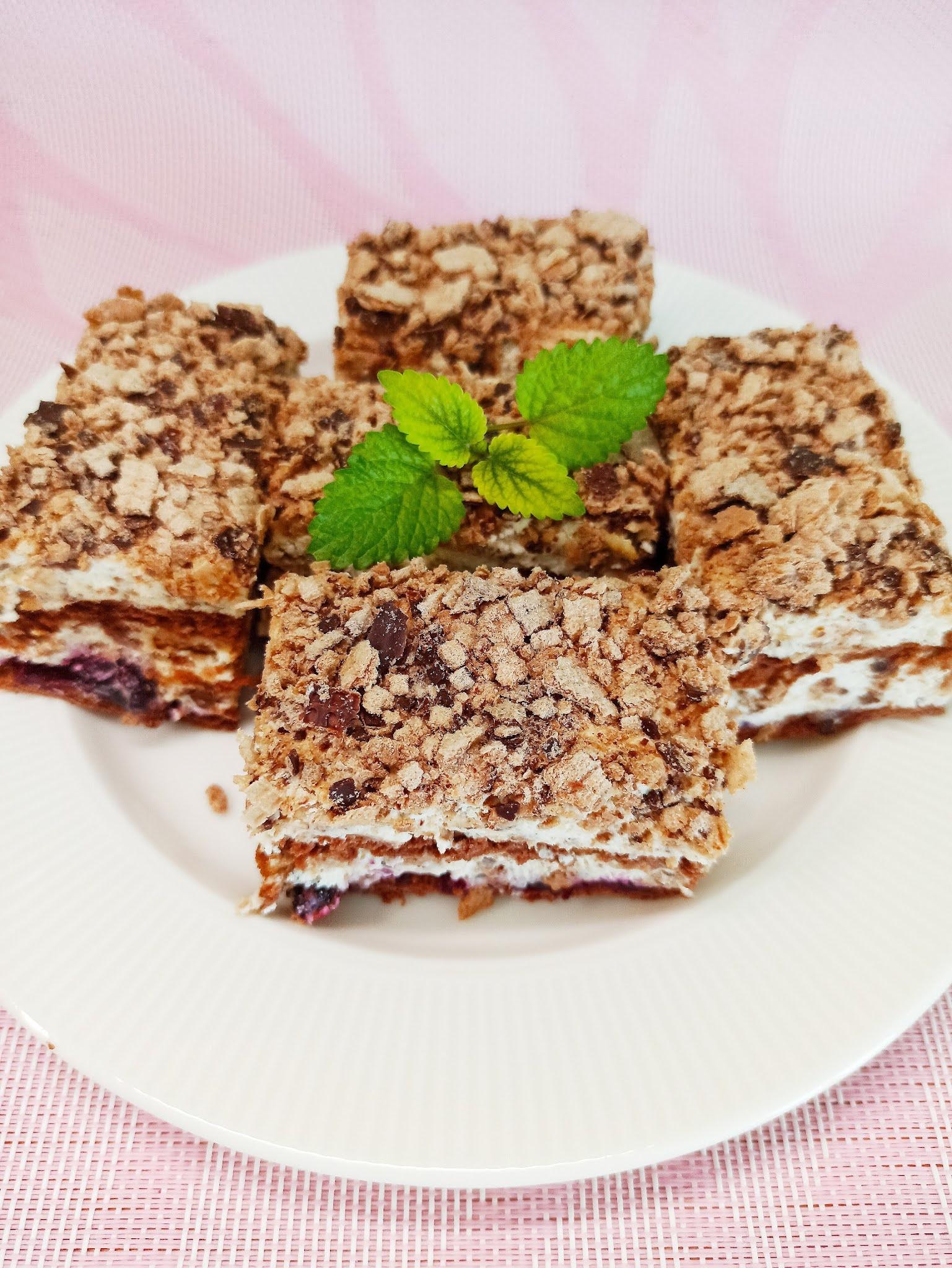 Ciasto Grzesiek (bez pieczenia)