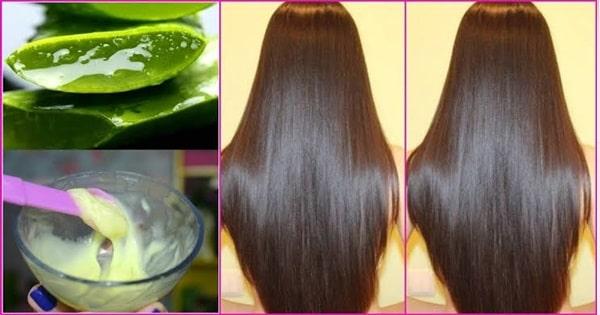 Receita com babosa e óleo de rícino para o crescimento do cabelo