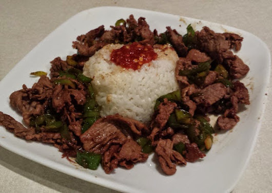 Beef with Long Hot Peppers and Sticky Rice ~ CIO Recipes