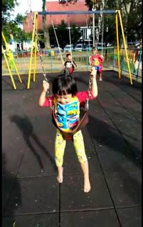 Wahana Permainan di Alun-alun Kota Malang
