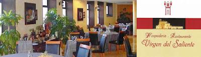 Restaurante Virgen del Saliente, Virgen del Saliente