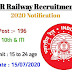 NCR recruitment 2020 For 196 Vacancies