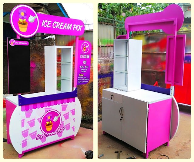 Booth Portable es krim pot