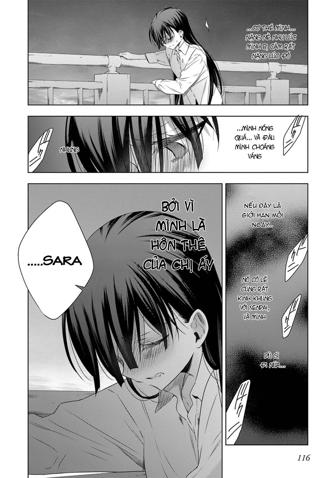 Kyuuketsuki-chan to Kouhai-chan chap 15 - Trang 19